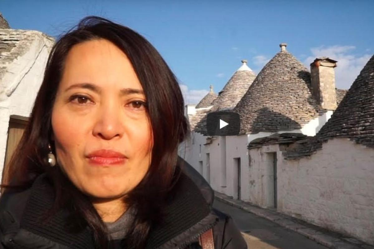 Alberobello told by its citizens: Japan