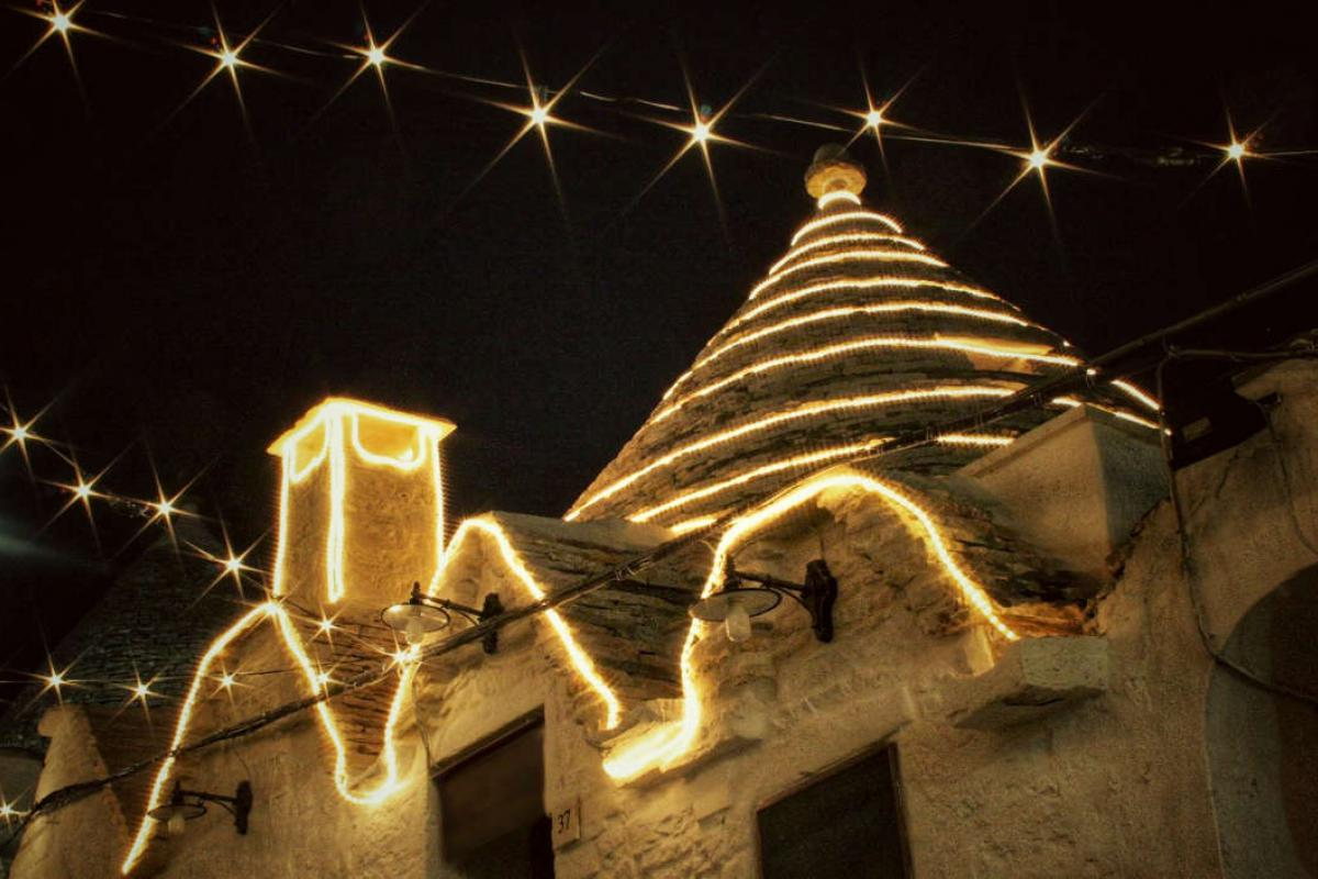 Christmas in Alberobello