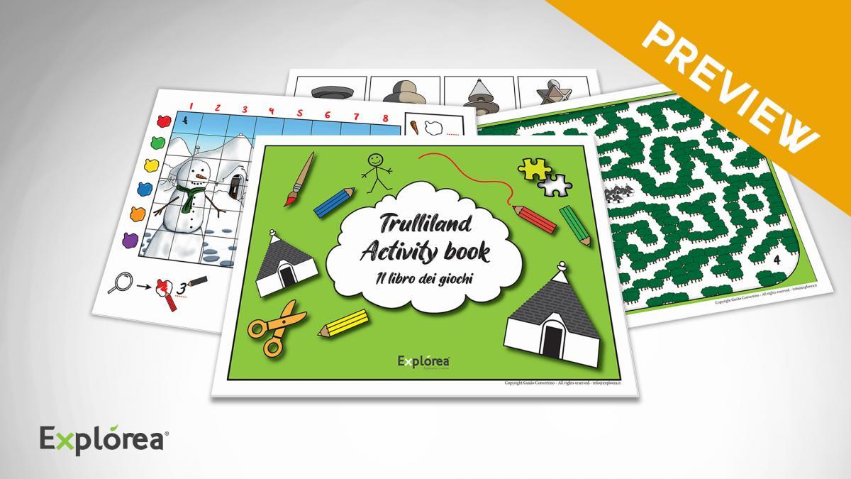 Trulliland activity book